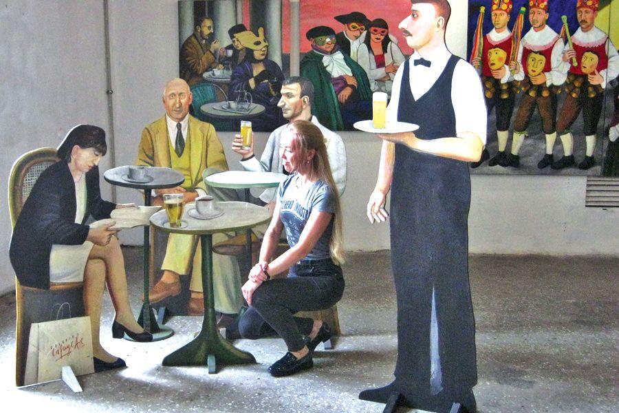 Изгнание в рай: в Петербурге открылась выставка «Жизнь как метафора» | ФОТО АВТОРА
