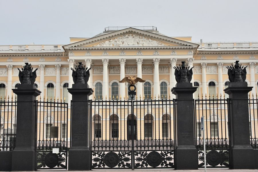 Русский музей представит выставочный проект к своему 125-летию   ФОТО Сергея ГРИЦКОВА