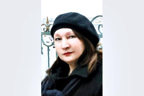 Гость редакции - Валентина Ганибалова | ФОТО Александра ДРОЗДОВА