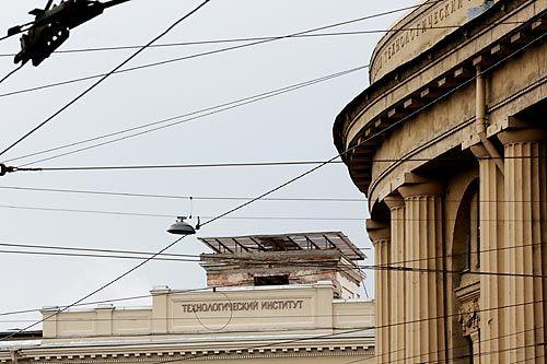 Технологический возьмутпод купол  | ФОТО Александра ДРОЗДОВА