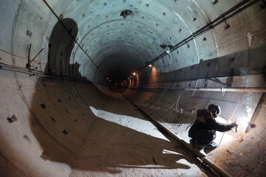 Метро на вырост. В Петербурге взяли курс на развитие подземки | ФОТО Руслана ШАМУКОВА/ТАСС
