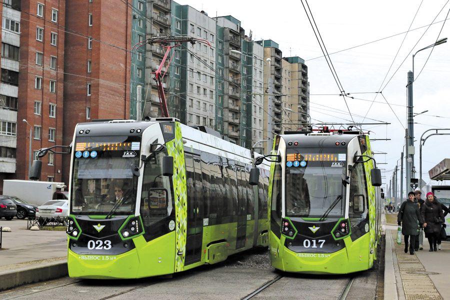 В Петербурге трамваи «Чижик» перевезли более 26 млн пассажиров  | ФОТО Дмитрия СОКОЛОВА